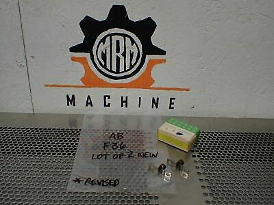 Allen Bradley F36 Thermal Overload Heater Elements New No Original Box (2 Lot)