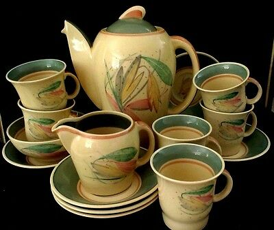 susie cooper coffee set for 6