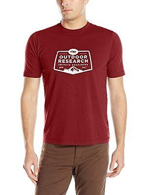 NEW Outdoor Research Men's Bowser Tee, Large, Redwood