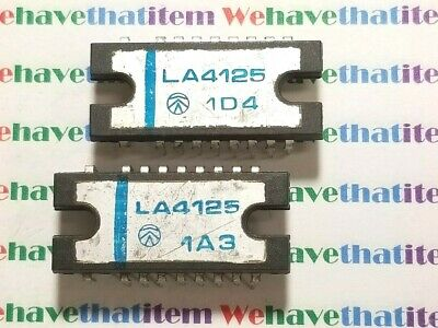 LA4125 / IC / COMPARABLE TO ECG1383, NTE1383 / DIP / 2 PIECEs (qzty)