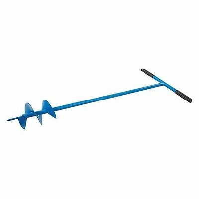 POST HOLE AUGER 127mm DIAMETER 1100mm LENGTH GARDENING BUILDING DIG U221