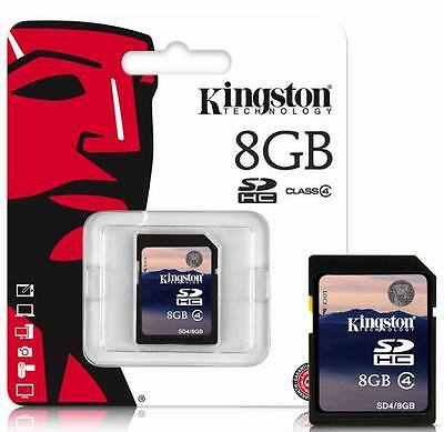 8GB Memory card SDHC Secure Digital Camera Camcorder 8G