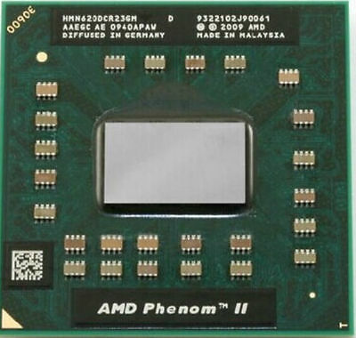 AMD Phenom II Dual-Core N620 HMN620DCR23GM Mobile CPU Processor Socket S1G4 638pin 2.8GHz 2MB