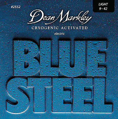 Dean Markley 2552 Blue Steel Electric Guitar Strings 9-42 lite gauge