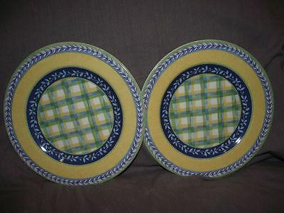 Set of 2 Vista Alegre Camomila Salad Plates