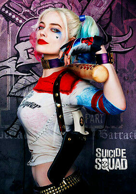 "Margot Robbie - 2.5"" x 3.5"" MAGNET Photograph #3 Suicide Squad Harley Quinn Sexy"