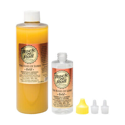 """Rock""""N""""Roll Gold Bicycle Chain Lube Complete Kit 16oz"""