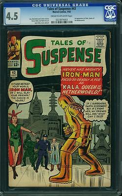 Tales Of Suspense 43 Cgc 4.5 - 1St Kala