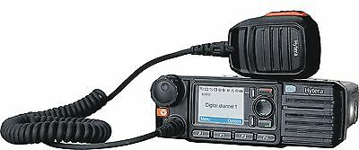 Hytera Md785 Uhf 25 Watt Digital Dmr Mobile Two Way Radio