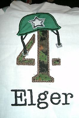 Army Birthday Number Personalized Shirt ANY NAME, NO. & COLOR SCHEME