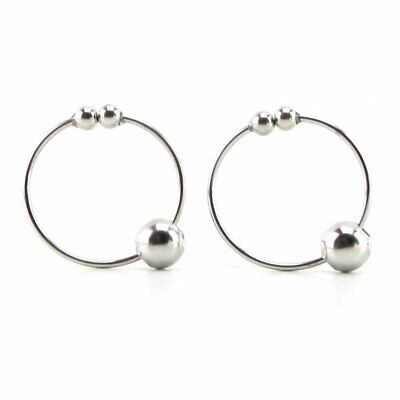 Non-piercing Silver Nipple Rings Intimate Body Nipple Jewelry