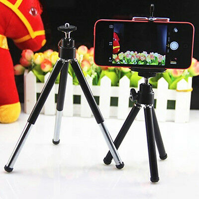 New 360° Mini Tripod Stand Holder Mount for Camera Mobile Phone iPhone Samsung