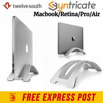 GENUINE Twelve South BookArc vertical Stand for Macbook Pro/Retina/Air -Silver