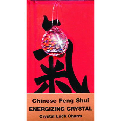 Feng Shui Luck Charms 1/Pkg Energizing Crystal FSLC-5