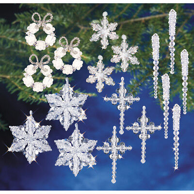 Holiday Beaded Ornament Kit Collection Crystal Collection OCK-5724