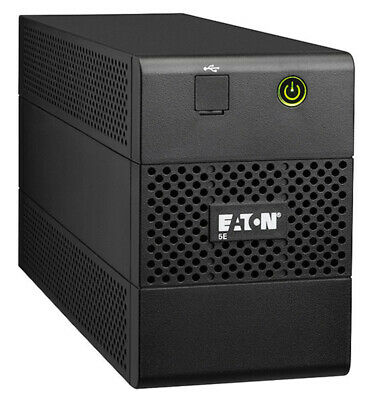 Eaton 5E 650VA 360W Line Interactive Tower UPS AVR 2x10A ANZ OUT 5E650i