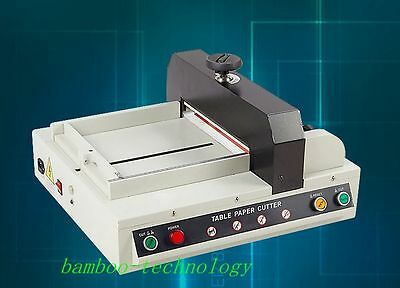 Electric Automatic Desktop Paper Cutter Stack Paper Cutting Heavy Duty A4 Size