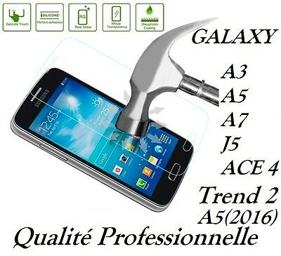 TEMPERED GLASS Galaxy A3 A5 A7 J3 J5 J7 ACE 4 TREND 2, screen protector Samsung