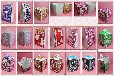Brother ScanNCut Larger Xmas gift box & bag templates CD1041