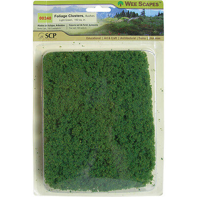 Bushes 150 Square Inches Light Green 00340
