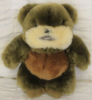 "Star Wars Ewok Plush 8"" Soft Cuddly Stuffed Animal Toy Disney Wicket"