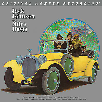 Miles Davis - A Tribute To Jack Johnson+++ Vinyl 180g ++MFSL 1-440+++NEU+++OVP