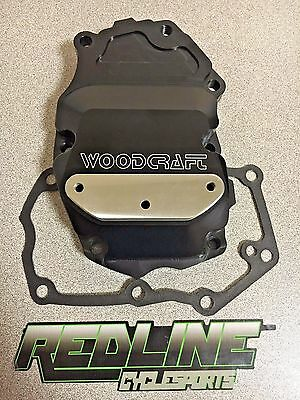 Woodcraft Ignition Trigger Cover for 2013-2016 Triumph Daytona 675 and 675R
