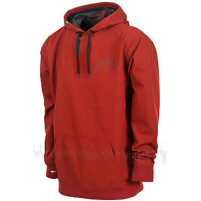 ANALOG by BURTON Mens 2016 Snowboard Snow Oxblood 3LS ATF PULLOVER TECH HOODIE