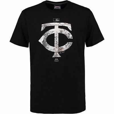 MLB Baseball T-Shirt MINNESOTA TWINS Clubhouse Fashion Authentic Collection