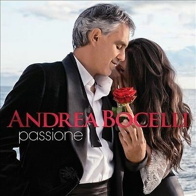 Andrea Bocelli - Passione  (Jan-2013, Verve) NEW Sealed CD 14 track digipak