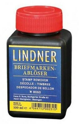 New High Quality Lindner Stamp Lift Remover Liquid ERNI Germany Free US Shipping