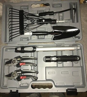 Home And Garden Tools And Case