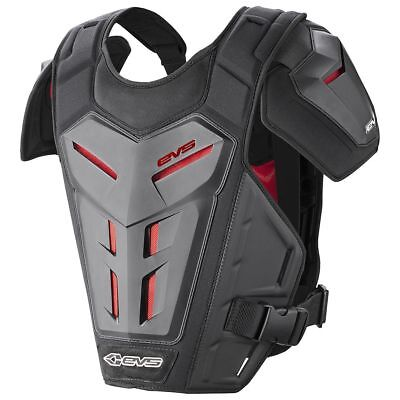 EVS Mx NEW Youth Revo 5 Motocross Roost Chest Protector Kids Black Body Armour