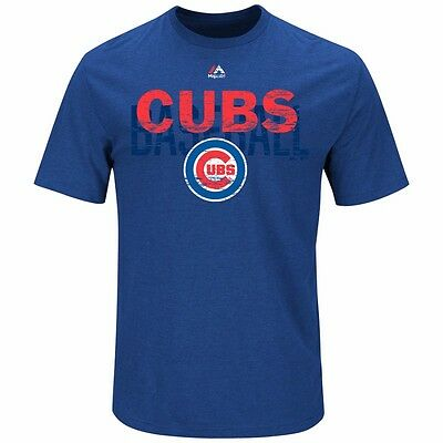 MLB Baseball T-Shirt CHICAGO CUBS All-in-the-Game von Majestic
