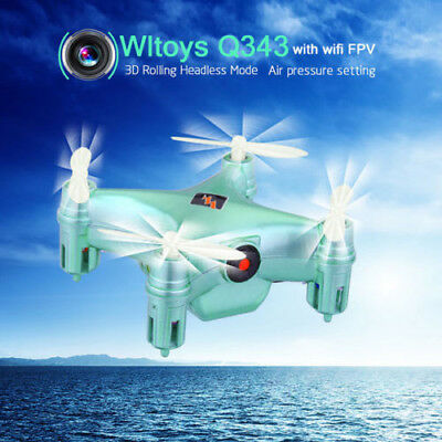 4CH 6-Axis Gyro Barometer RC FPV Wifi Quadcopter Drone Helicopter W/Camera New