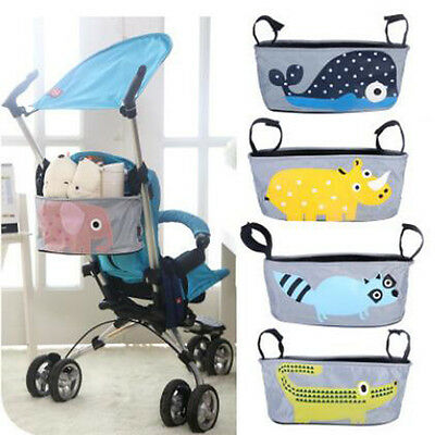 Tops Cartoon Kids Stroller Hang Bag Baby Car Hanging Basket Storage for Mother