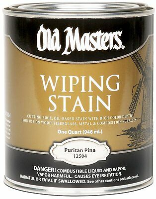 Old Masters Wiping Stain Puritan Pine Quart