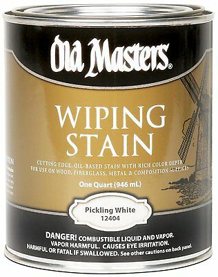 Old Masters Wiping Stain Pickling White Quart