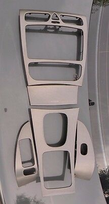 Genuine Mercedes Benz C Class W203 Avantgarde Interior Trim Set Aluminium