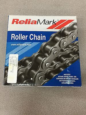 New Reliamark Metric Roller Chain 10Ft. Roll 08B-1 Riv.