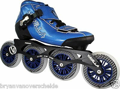 vanilla Carbon inline speed skate boots ( Boots only )