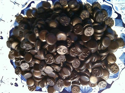 Dutch Licorice  Dubbel Zout Rond - Double Salt Round  BIG 1 KG Bag