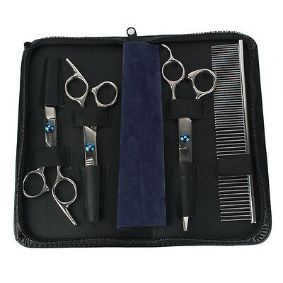 Newest Stainless Steel Premium Curved Scissor Set for Dog Cat Pet Grooming
