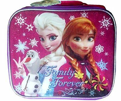 Disney Frozen Elsa and Anna Lunch Box Tote Family Forever New