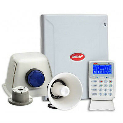 Home Security System Ness D8xD 8 Zone Alarm System Kit