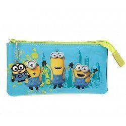 Officially Licensed | MINION | 3 Pocket Pencil Case