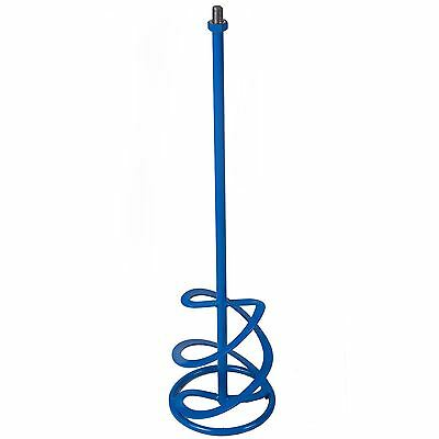 Mixing Paddle Mixer 160 x 600mm M14 Thread  Plaster, Render Whisk, Stirrer P34