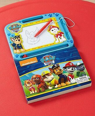 Kid's Licensed Paw Patrol Magnetic Drawing Board Activity Book Art Reading Fun