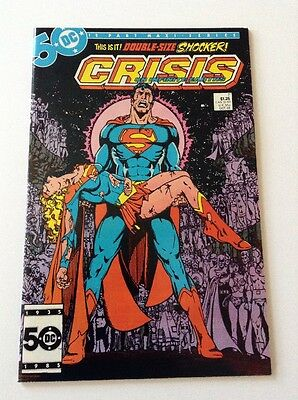 Crisis on Infinite Earths #7 (Oct 1985) Death of Supergirl