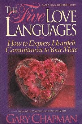 The Five 5 Love Languages by Gary Chapman FREE USA SHIPPING relationship rescue!